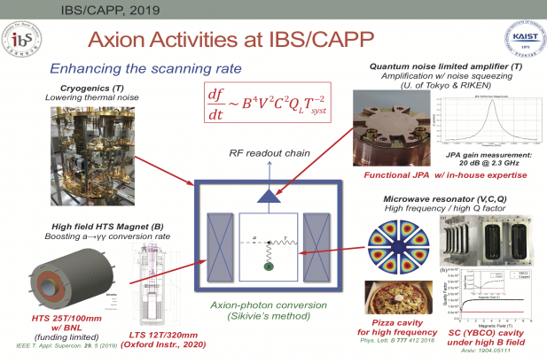 Axion Activities at IBS/CAPP