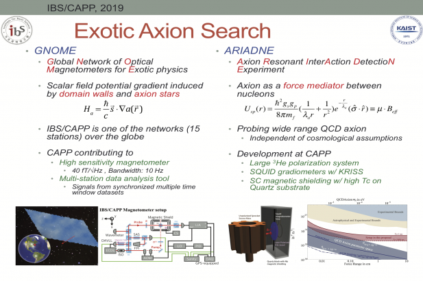 Exotic Axion Search