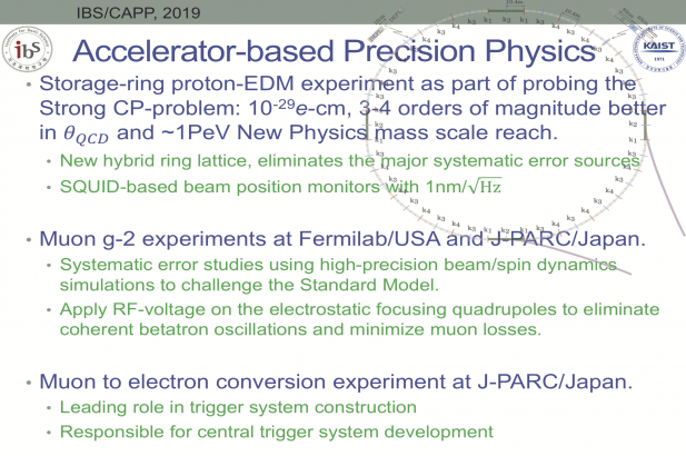 Accelerator-based Precision Physics
